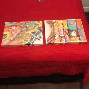 Paintings Set of 2 16x12 Brand New by Kate '11